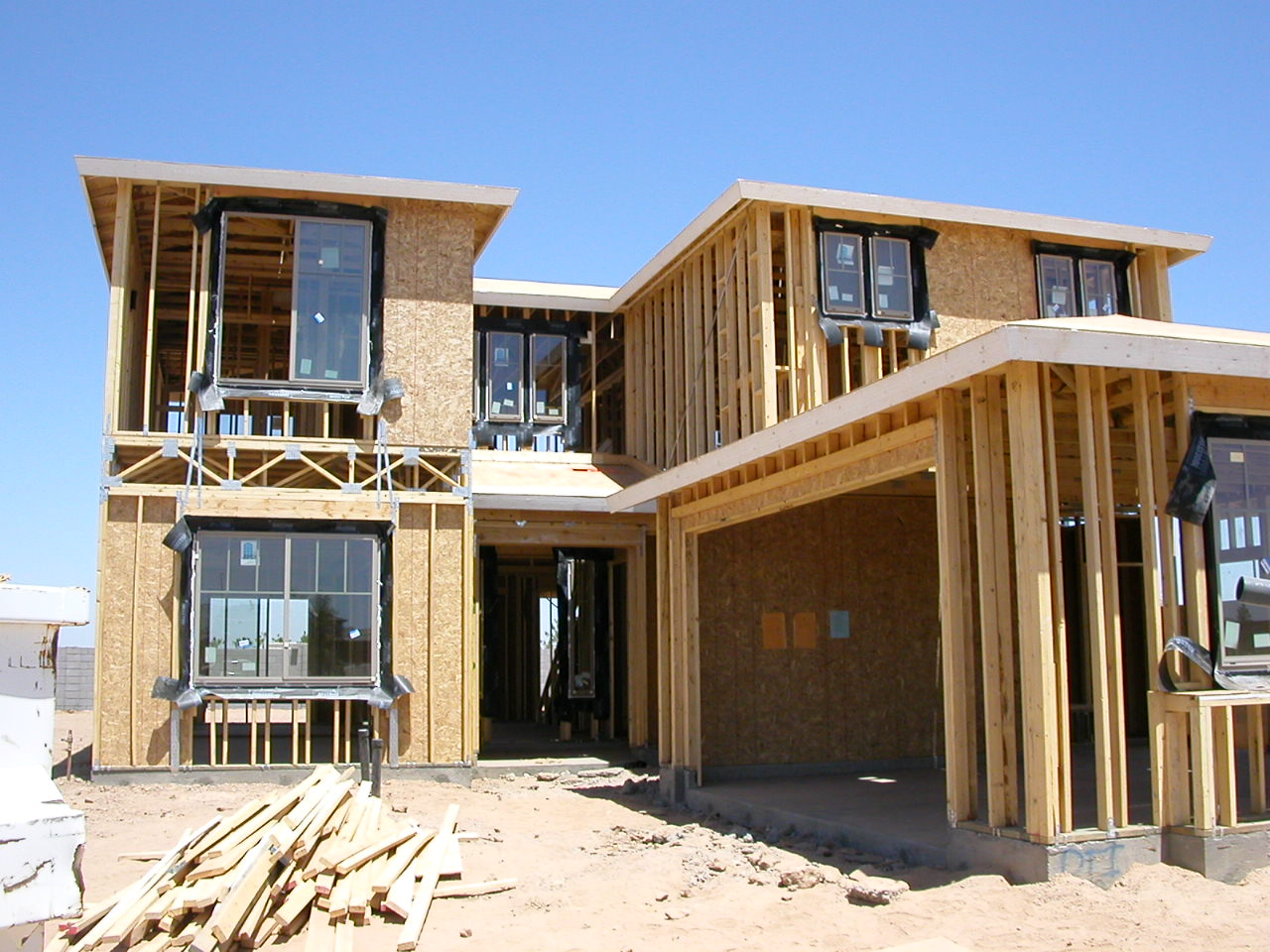 new home construction icon projects
